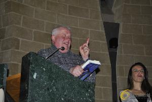 Albano Carrisi a Matera nella Chiesa di Sant'Agnese - 28 febbraio 2014 (foto SassiLand) - Matera