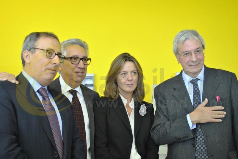 Beatrice Lorenzin, ministro della salute in visita all´ospedale di Matera - 7 novembre 2013 (foto SassiLand)