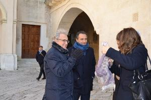 USSI, Cesare Prandelli in arrivo (foto Francesco Calia)