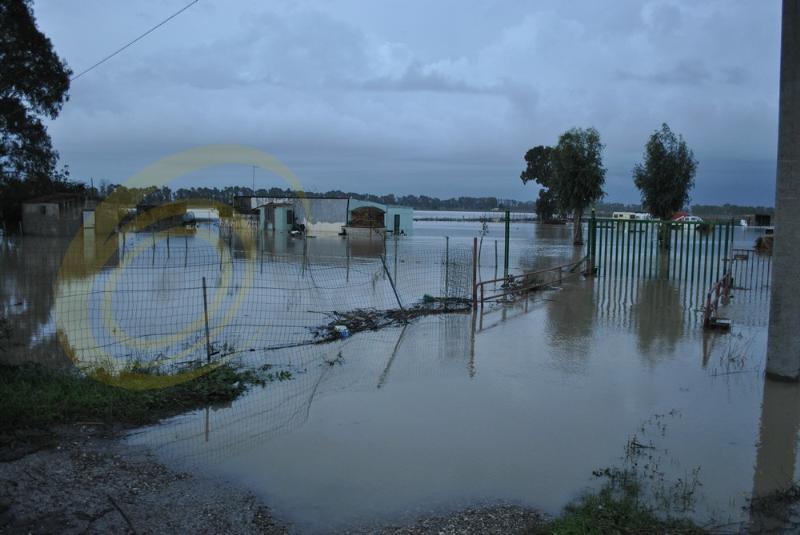 Emergenza maltempo in Basilicata - Metaponto - 2 dicembre 2013 (foto SassiLand)