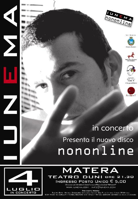 IUNEMA in concerto