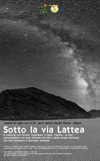 Sotto la Via Lattea