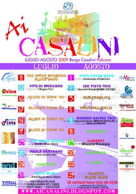 Ai Casalini 2009