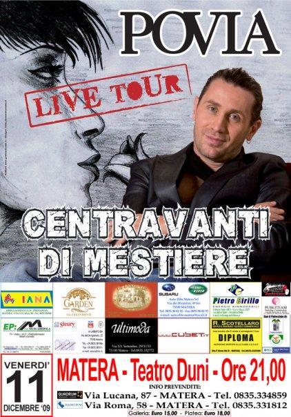 Povia live tour