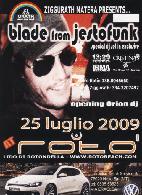 Dj Blade from Jestofunk