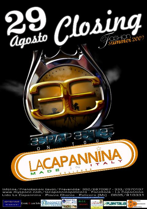 PAPEETE BEACH TOUR from MILANO MARITTIMA – CLOSING PARTY