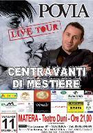 Povia live tour - Matera