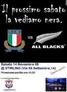 ASD RUGBY MATERA E STIRLING CLUB INSIEME PER ITALIA-NUOVA ZELANDA - Matera