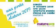 Una porta sulla città, verso Matera 2019 - Matera