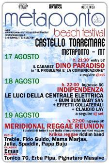Metaponto Beach Festival - Matera