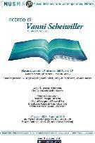 Ricordo di Vanni Scheiwiller  - Matera