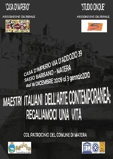 Maestri italiani dell arte contemporanea - Matera