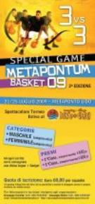 SPECIAL GAME  METAPONTUM BASKET - Matera
