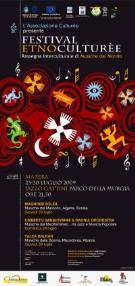 ETNOCULTURèE Festival Interculturale di Musiche dal Mondo - Matera