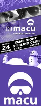 DJ MACU XMAS NIGHT - Matera