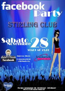 Facebook Party Stirling Club - Matera