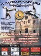 IV Batizado Capoeira - Matera