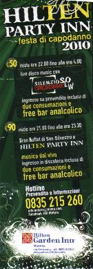 HILTEN PARTY INN - Matera