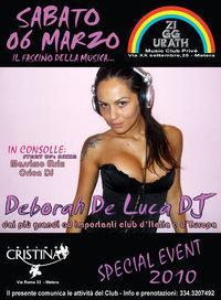 Il fascino della Musica- DJ Deborah de Luca