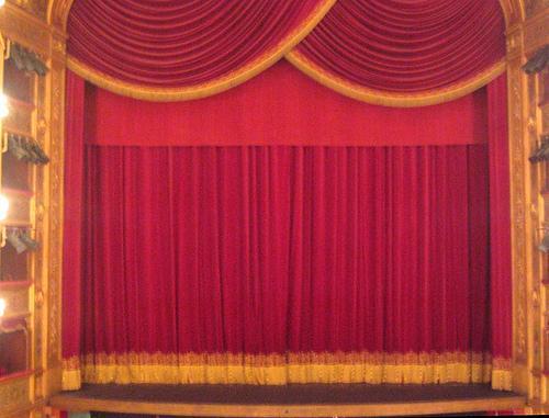 Teatro, sipario