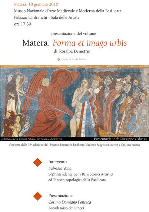 Matera - forma et imago urbis