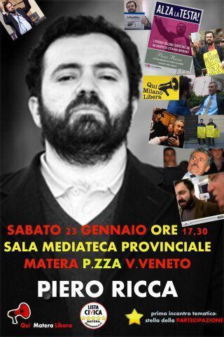 Incontro con Piero Ricca