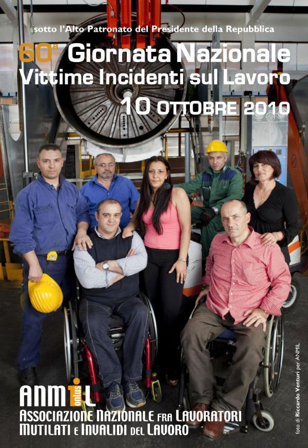 60° giornata nazionale vittime incidenti sul lavoro