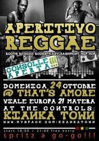 Aperitivo Reggae 24 ottobre 2010