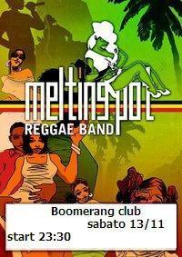 Boomerang Club 13 novembre 2010