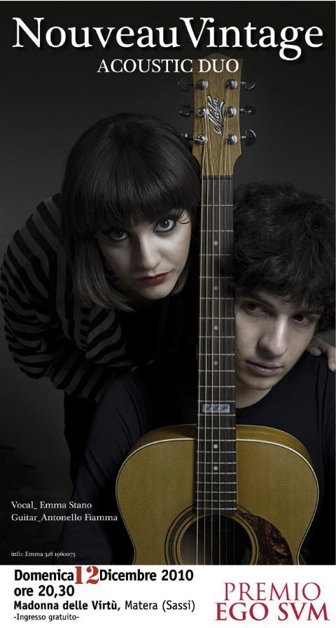Duo acustico Nouveau Vintage