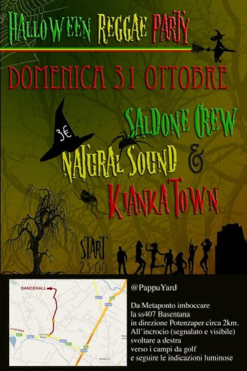 Halloween Reggae Party