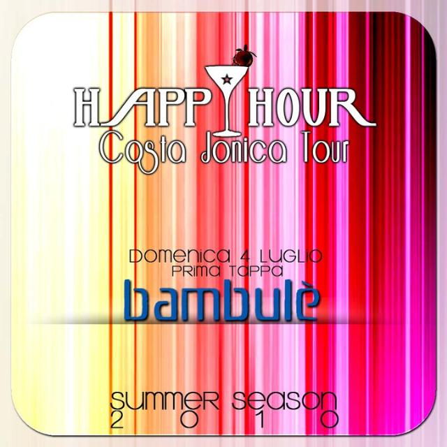 Happy hour Lido Bambulè