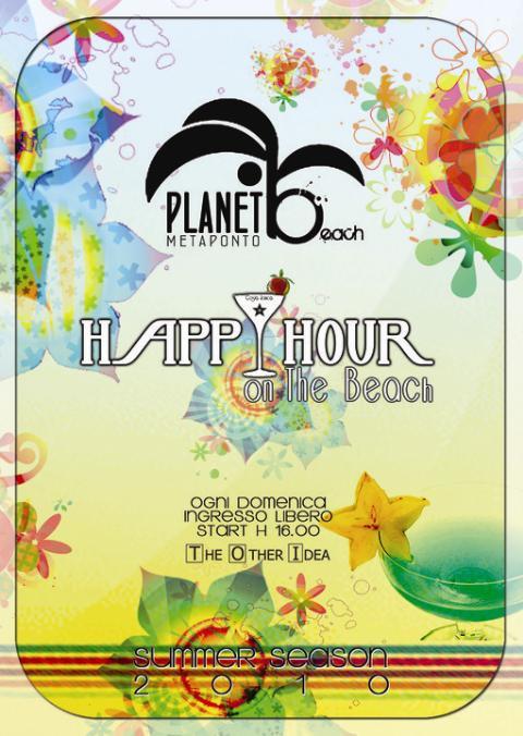 Happy hour Lido Planet Beach - 01 agosto 2010