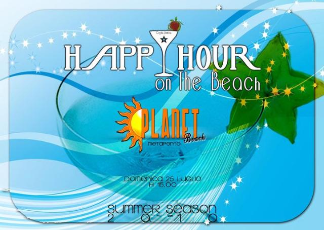 Happy hour Lido Planet Beach