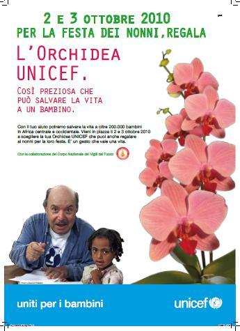 L´orchidea Unicef