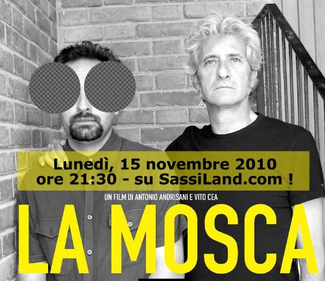 La Mosca di Antonio Andrisani, in streaming su SassiLand