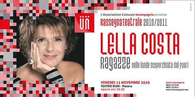 Lella Costa 12 novembre 2010