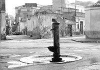 Fontana d´acqua nei Sassi di Matera