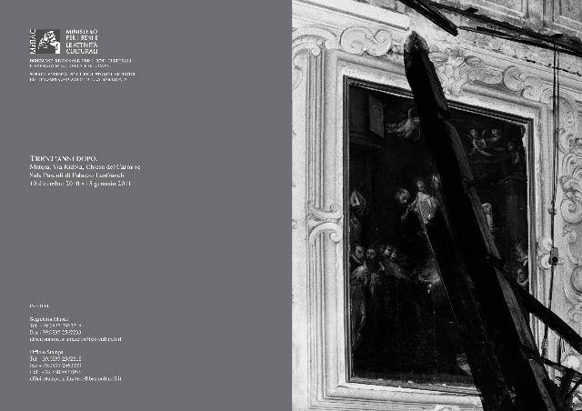 """Mostra fotografica """"Trent´anni dopo"""", Matera, Sala Levi  Palazzo Lanfranchi - Matera"""