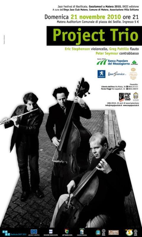 Project Trio 21 novembre 2010