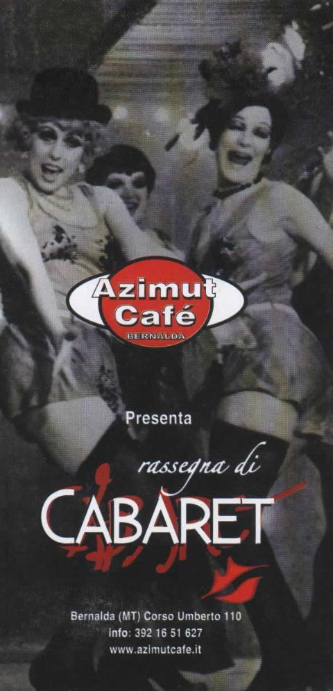 Rassegna di Cabaret