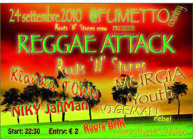 Reggae Attack 24 settembre 2010