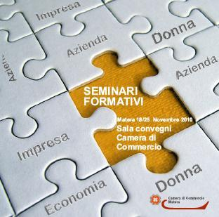 Seminari Formativi Camera di Commercio