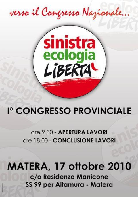 Sinistra Ecologia Libertà - Congresso