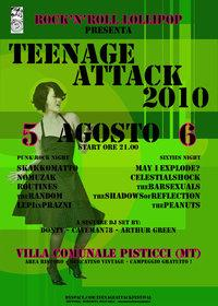 Teenage attack 2010