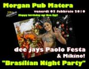 BRASILIAN NIGHT PARTY - Matera