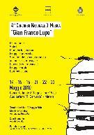 4° CONCORSO NAZIONALE DI MUSICA Gian Franco Lupo - Matera