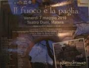 IL FUOCO E LA PAGLIA - Matera