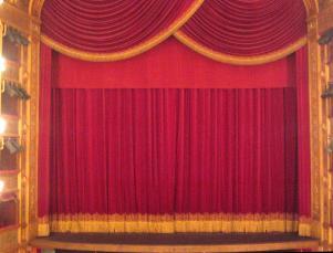 Teatro, sipario - Matera