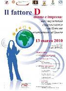 Il fattore D - donne e impresa - Matera